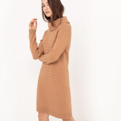 Robe droite, mi-longue, manches longues La Redoute Collections