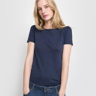 T-shirt scollo rotondo, maniche corte cotone biologico La Redoute Collections