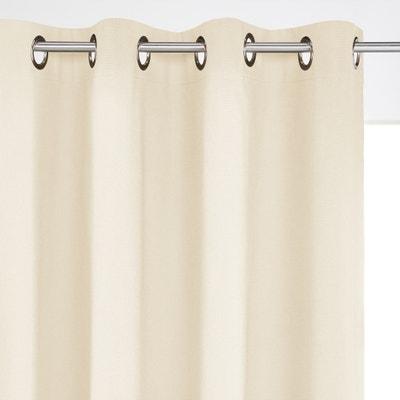 Lichtundurchlässiger Vorhang, reine Baumwolle, Ösen Lichtundurchlässiger Vorhang, reine Baumwolle, Ösen La Redoute Interieurs