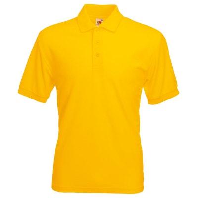 Polos Clique jaunes homme dZa6n