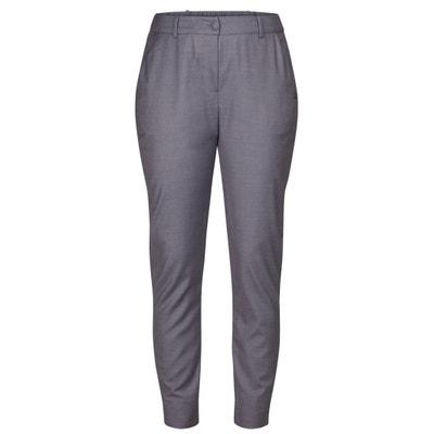 Slim broek met hoge taille, elastisch aan de enkels Slim broek met hoge taille, elastisch aan de enkels NUMPH