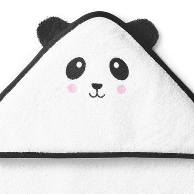 Capa de baño bordada con capucha para bebé, LEO Capa de baño bordada con capucha para bebé, LEO La Redoute Interieurs