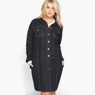 Denim Jacket Style Dress CASTALUNA