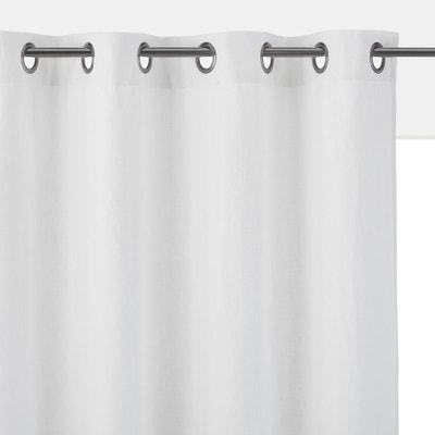 Rideaux coton lin blanc | La Redoute