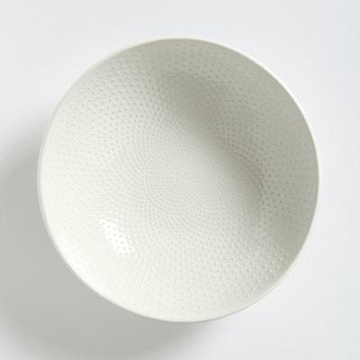 Set of 4 Arsenia Soup Plates with Rice Grain Motif La Redoute Interieurs