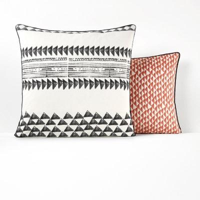 Funda de almohada 100% algodón TIEBELE Funda de almohada 100% algodón TIEBELE La Redoute Interieurs