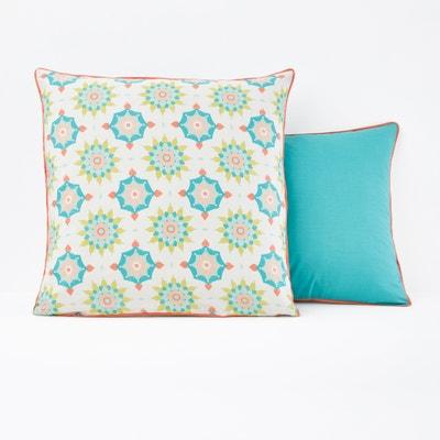 Seyma Single Printed Pillowcase La Redoute Interieurs