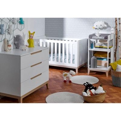 Lit bebe table a langer integree en solde | La Redoute