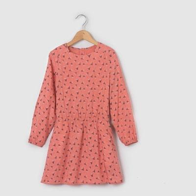 Robe imprimée fleurs 3-12 ans La Redoute Collections