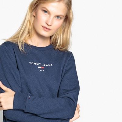 Sweater met ronde hals en TOMMY JEANS logo Sweater met ronde hals en TOMMY JEANS logo TOMMY JEANS