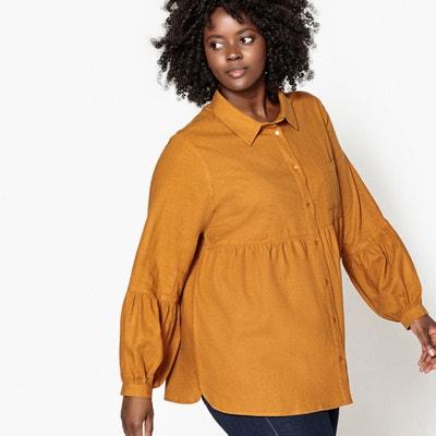Camisa lisa de lino Camisa lisa de lino CASTALUNA