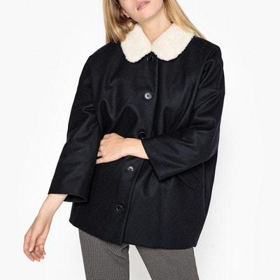 Пальто средней длины со съемным воротником ESTEFE Пальто средней длины со съемным воротником ESTEFE HARRIS WILSON