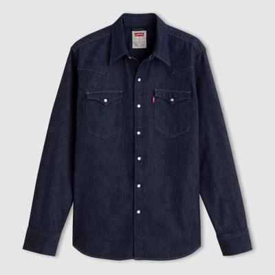 cea1b411992ff Chemise en jean manches longues Chemise en jean manches longues LEVI S