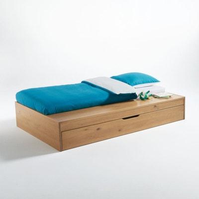 Lit plateforme gigogne, banc et tiroir-lit Yann La Redoute Interieurs