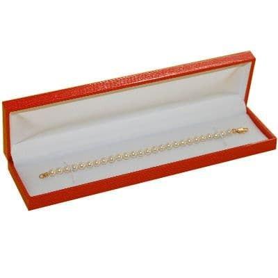 Ecrin Bracelet Rouge - Gainé Epi Rouge - Etui Boite Bijoux (vendu sans bijou) Ecrin Bracelet Rouge - Gainé Epi Rouge - Etui Boite Bijoux (vendu sans bijou) SO CHIC BIJOUX