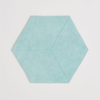 Tapis, hexagonal pur coton effet 3D, Camino La Redoute Interieurs