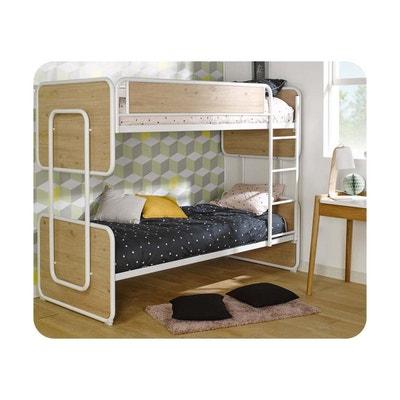 lit superpos enfant spiral 90x200 cm avec sommier gigogne ma chambre d enfant
