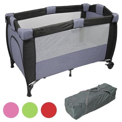 gris Matelas 3 parties pour lit parapluie Baby Fox 120 cm x 60 cm