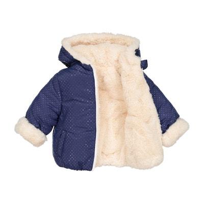 Manteau réversible imitation fourrure 3 mois-3 ans Manteau réversible imitation fourrure 3 mois-3 ans La Redoute Collections
