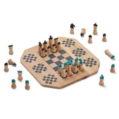 Jeu d'échecs 2 en 1 Jeu d'échecs 2 en 1 NATURE ET DECOUVERTES