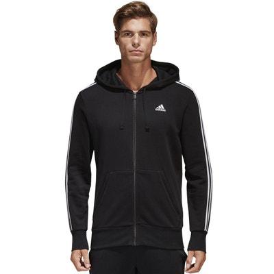 Sweat zippé à capuche en molleton adidas Performance
