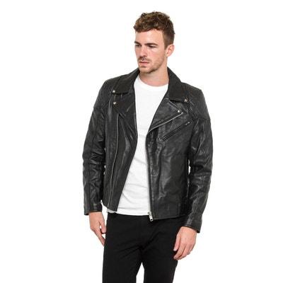 3ffdeb7160807 Blouson, veste en cuir homme Tassa paris en solde   La Redoute