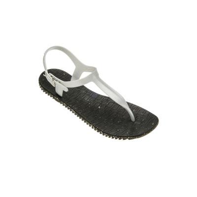 Sandales femme eco uno noir et blanc  noir Amazonas  La Redoute