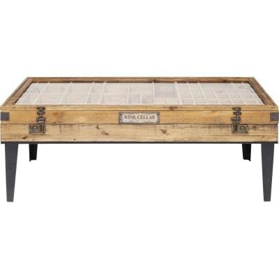 Table Basse Bois Clair Design En Solde La Redoute