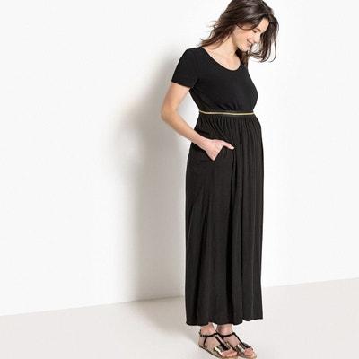 f81504219cc81 Jupe longue de grossesse, élastique fantaisie Jupe longue de grossesse,  élastique fantaisie LA REDOUTE