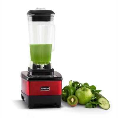 Herakles-4G-E Mixeur 1500W 2 litres smoothie sans BPA -rouge KLARSTEIN
