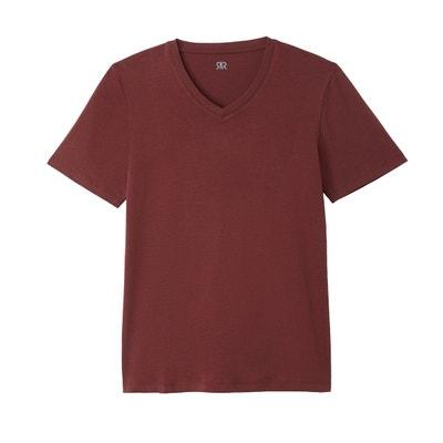 Tee shirt THEO col V en coton Tee shirt THEO col V en coton LA REDOUTE b169b25923e0