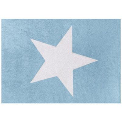 tapis enfant coton toile boy tapis enfant coton toile boy lilipouce - Tapis Bleu Marine