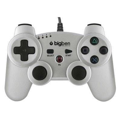 Mini manette filaire silver métallisé pour PS3 Mini manette filaire silver métallisé pour PS3 BIG BEN