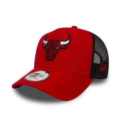 68f6540b1ee86 Casquette Trucker New Era Chicago Bulls Rouge Filet NEW ERA