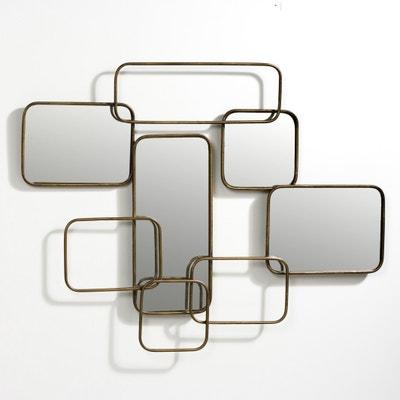 Espelho de parede, comp. 85 x alt. 45 cm, Dédale Espelho de parede, comp. 85 x alt. 45 cm, Dédale AM.PM.