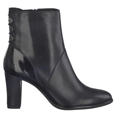 Boots cuir Esmeralda Boots cuir Esmeralda TAMARIS