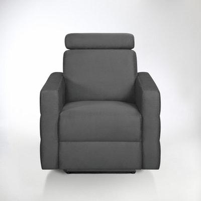 Fauteuil de relaxation électrique microfibre, Hyriel Fauteuil de relaxation électrique microfibre, Hyriel La Redoute Interieurs