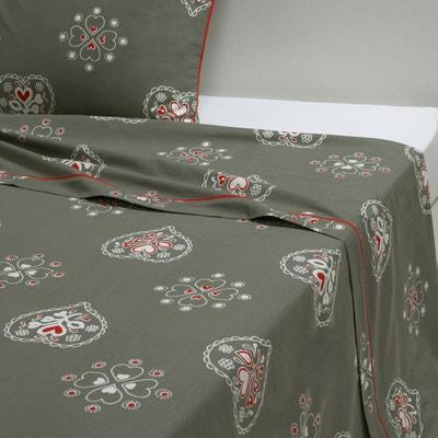 Saint-Léris Cotton Flat Sheet Saint-Léris Cotton Flat Sheet La Redoute Interieurs