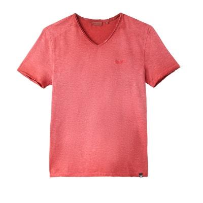 Plain Short-Sleeved V-Neck T-Shirt Plain Short-Sleeved V-Neck T-Shirt KAPORAL 5
