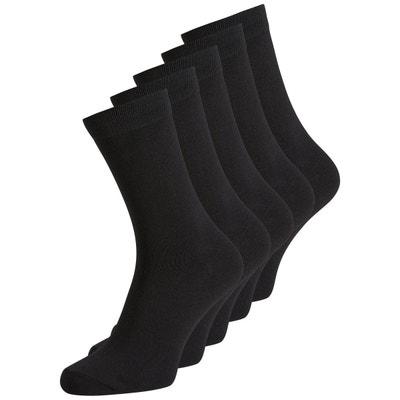 chaussettes hautes lot de 5 paires JACK & JONES