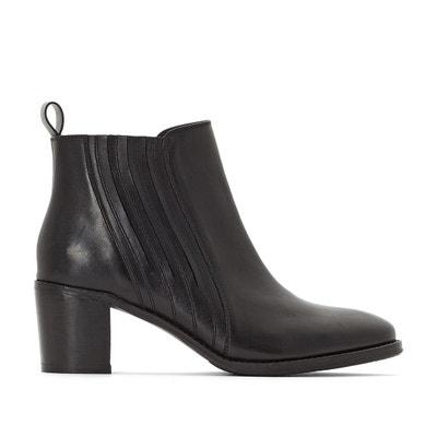 Boots en cuir à talons CASTALUNA