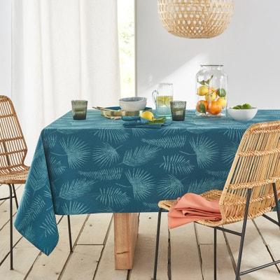 Almenada Anti-Stain Patterned Tablecloth La Redoute Interieurs
