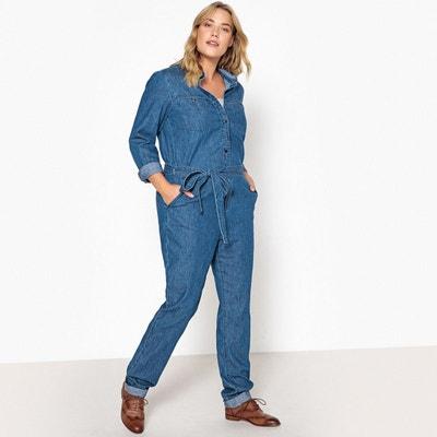 c1a71688ac09d Combinaison pantalon denim Combinaison pantalon denim CASTALUNA