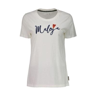 7c5c64e6e47e T-shirt manches courtes - beige bleu HufeisenkleeM. - T. MALOJA