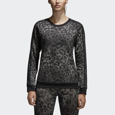 Leopard Print Sweatshirt ADIDAS PERFORMANCE