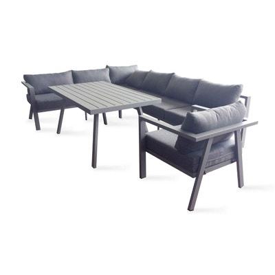 table de jardin 8 places aluminium canap dangle et fauteuil table de jardin 8 - Canape Exterieur