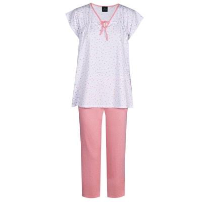 c89110d274cbb Pyjama pantacourt 100% coton MILY 402 Pyjama pantacourt 100% coton MILY 402 LE  CHAT