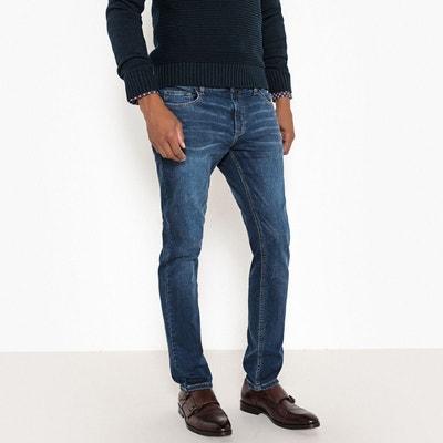 Jean coupe slim en maille Jean coupe slim en maille LA REDOUTE COLLECTIONS 3d5679a44f0c