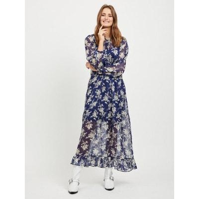 Robe longue À motif VILA 60d6be072153