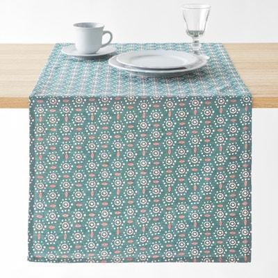 Bedrukte tafelloper in katoen/gewassen linnen OLÉANE La Redoute Interieurs